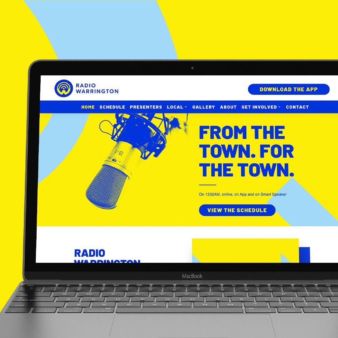radio warrington website